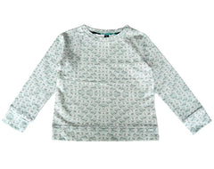 Sweatshirt in Cowmint Print