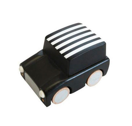 Kuruma Toy Car - Black with Stripes