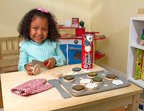 Slice & Bake Cookie Set Wooden Play Food