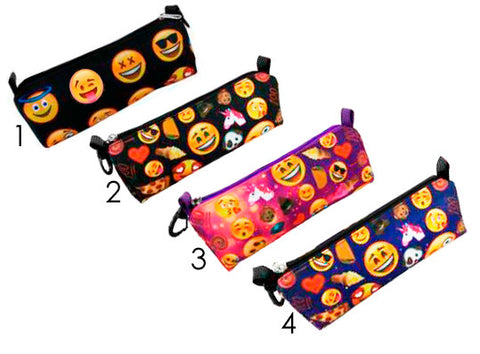Emoji Pencil Case - Assorted Colorways