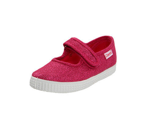 Fuschia Metallic Slip On Sneaker