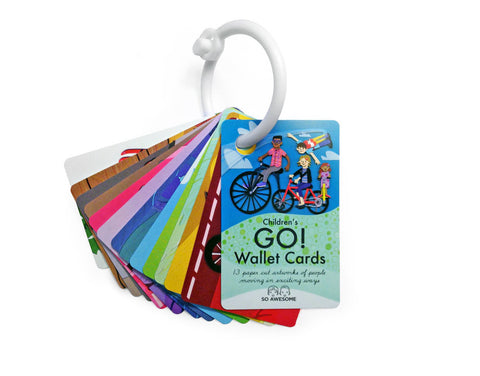 Go! Action Wallet Size Cards