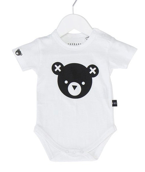 Essential Bear Onesie in White