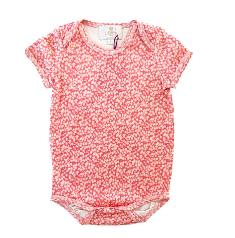 Liberty Print Short Sleeve Onesie