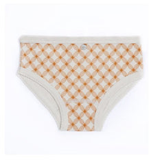 Girls Geometric Flower Print Underwear