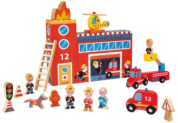 Firefighters Play Set