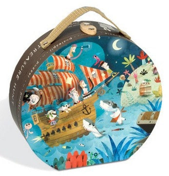Pirate Treasure Hunt 36 Piece Hat Boxed Puzzle