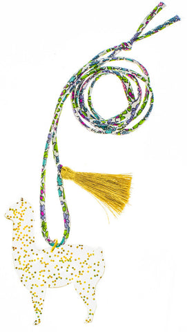 Goldie Glitter Alpace Necklace