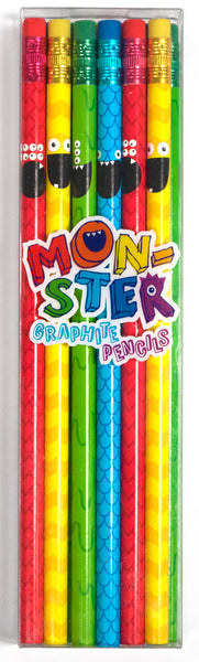 Monster Pencils - Set of 12