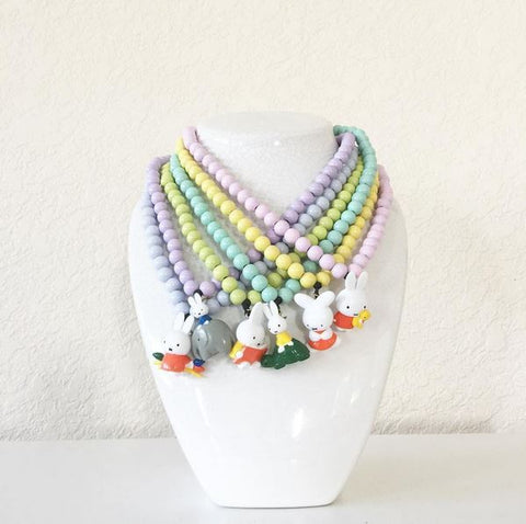 Miffy Beaded Necklace