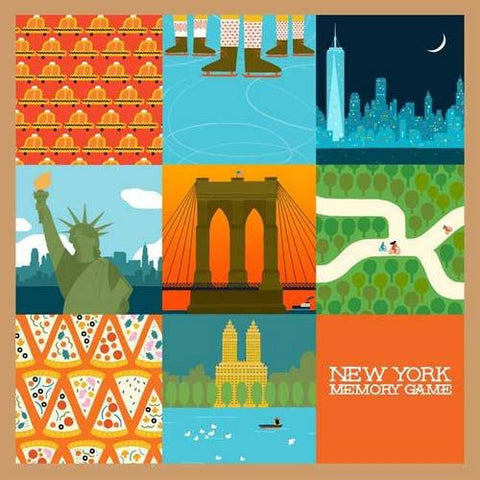 New York Memory Game