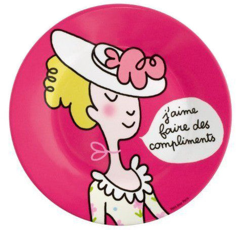 Princess Manners Plate - I like giving compliments