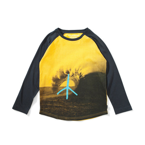 Peace Gold Tee Shirt