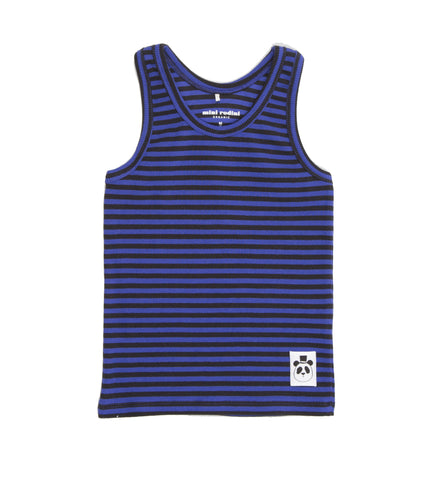 Stripe Ribbed Tank Top