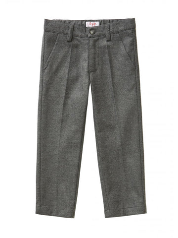 Boys Winter Dress Pants in NAVY (pictured in grey)