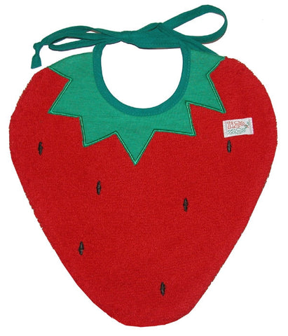 Strawberry Bib
