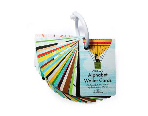 Alphabet Wallet Size Cards