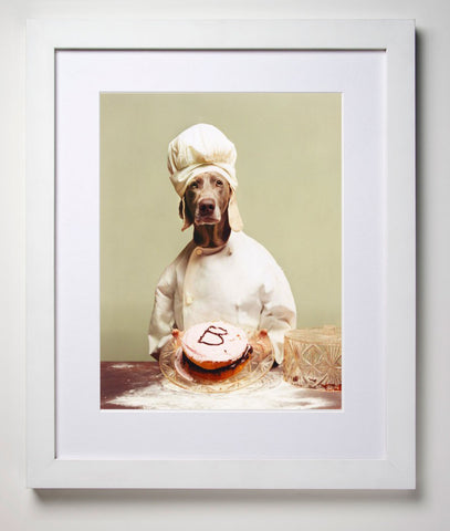 B is for Baker by William Wegman