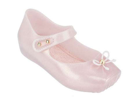 Ballerina Flat in Light Pink