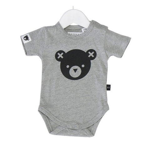 Essential Bear Onesie in Grey