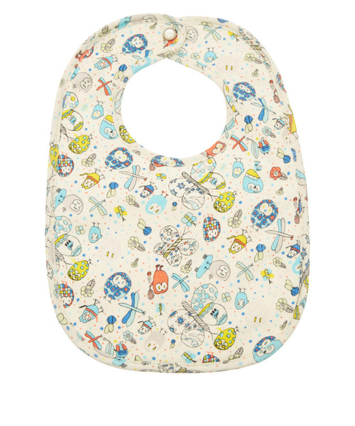 Liberty London Owl Print Bib