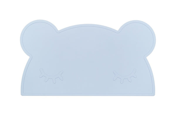 Light Blue Bear Silicone Placemat