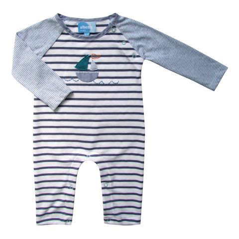 Sailboat Applique Babygro