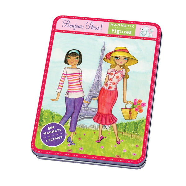 Bonjour Paris Magnet Play Set