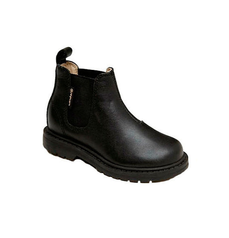 Unisex Black Stretch Boots