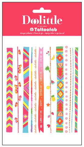 Bracelet Temporary Tattoo Set