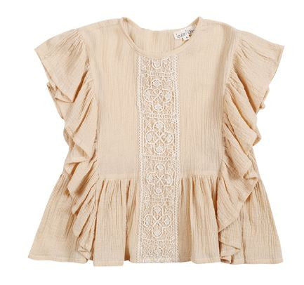 Brune Top in Beige