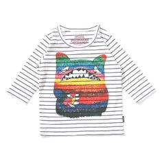 Baby Boys Chatter Long Sleeve Tee Shirt