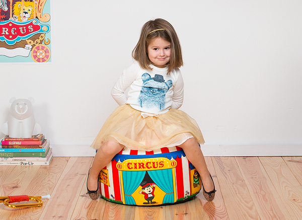 Big Top Circus Beanbag Chair