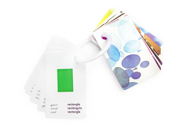 Color & Shape Wallet Size Cards