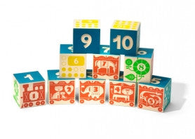 Count & Stack Numbered Counting Blocks