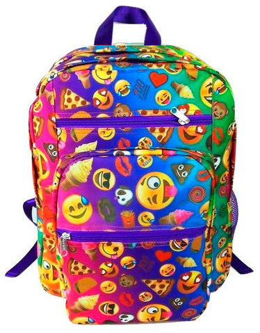 Emoji Montage Backpack