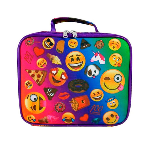 Emoji Montage Insulated Lunch Box