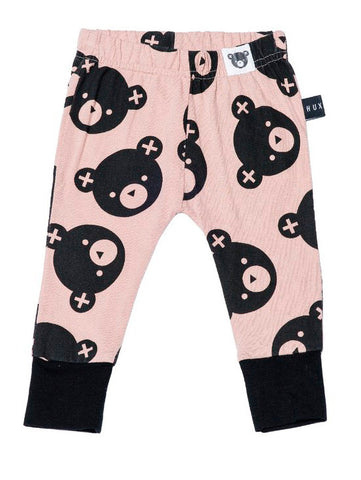 Falling Bear Leggings in Fawn
