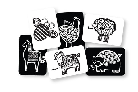 Art Cards For Baby - Farm Collection