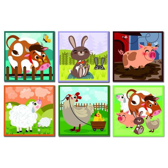 Farm Animals Blocks