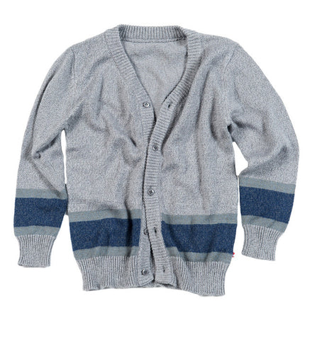 Football Cardigan in Galaxy