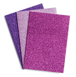 Glamtastic Glitter Notebooks - Set of 3