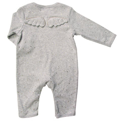 Gold Star Angel Wing Babygro