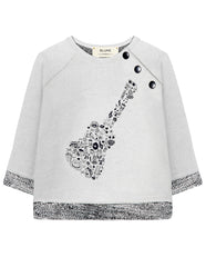 """Rock"" Guitar Sweatshirt"
