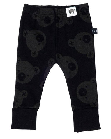 Falling Bear Leggings in Black