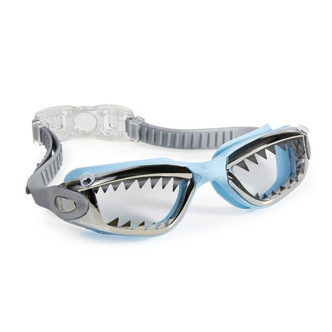 Jawsome Shark Goggles in Light Blue