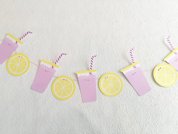 Pink Lemonade Garland