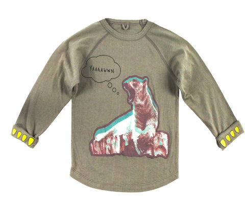 Max Boys Polar Bear Long Sleeve Tee