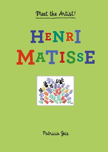 Meet The Artist!  Henri Matisse