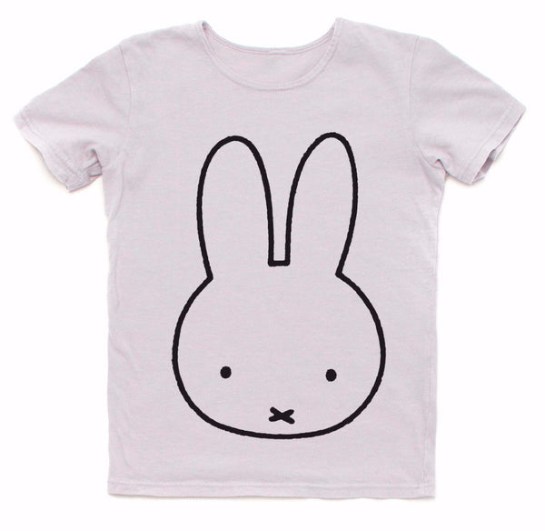 Miffy Graphic Tee in Light Grey